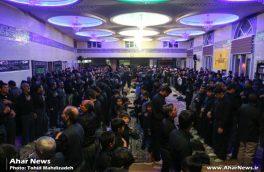 مراسم شام غریبان امام حسین (ع) با سخنرانی استاد فروغی