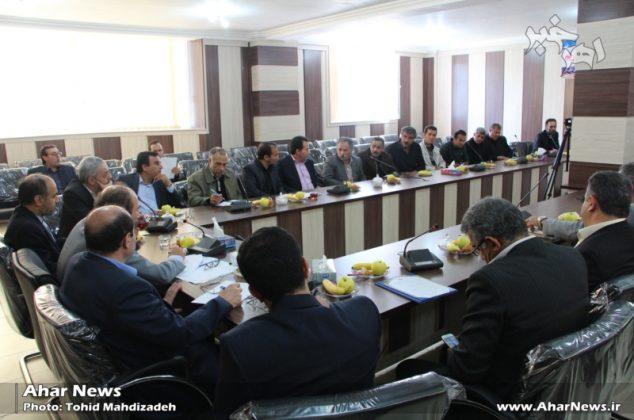 نشست دبیر ستاد اقتصاد مقاومتی استان با مدیران واحدهای صنعتی اهر