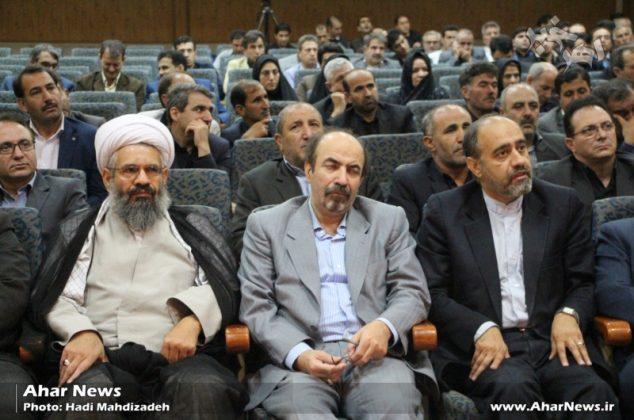 جلسه مشترک شورای اداری شهرستان اهر با اعضای ستاد اقتصاد مقاومتی