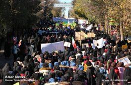 راهپیمایی ۱۳ آبان در شهرستان اهر