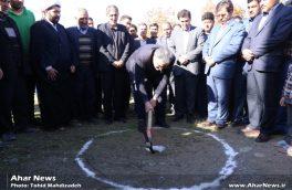 مراسم کلنگ زنی پروژه گازرسانی به روستاهای شهرستان هوراند