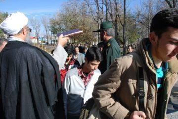 اعزام ۸۰۰ نفر از دانش آموزان اهری به مناطق عملیاتی شمالغرب کشور