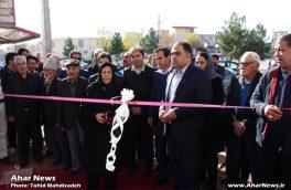 مجتمع ورزشی زنده یاد مجید حدادی در اهر افتتاح شد