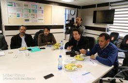 نشست خبری رئیس شبکه بهداشت و درمان اهر با اصحاب رسانه