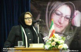 محفل ادبی با حضور بانوی رمان آذربایجان در اهر