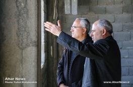 بازدید مدیرکل سازمان بهزیستی استان از اداره بهزیستی و ساختمان جدید در حال احداث هوراند