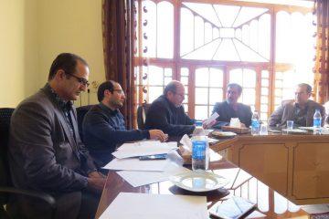 برگزاری جلسه شورای نامگذاری معابر و شوارع سطح شهر اهر