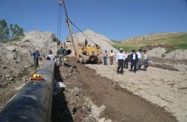 بهره برداری از فاز اول پروژه خط انتقال گاز منشعب از خط صادراتی ارمنستان به ورزقان و اهر