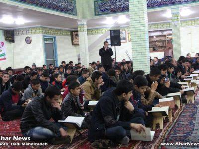محفل انس با قرآن کریم در  مسجد حضرت علی اکبر (ع)