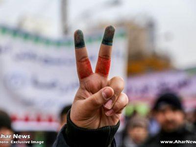 راهپیمایی یوم الله ۲۲ بهمن در شهرستان اهر
