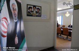 ثبت نام نامزد های انتخابات میان دوره ای مجلس دهم در حوزه انتخابیه اهر و هریس