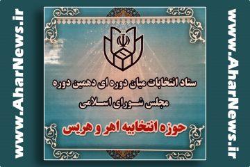 اعضای هیئت نظارت بر انتخابات میان دوره ای مجلس دهم در اهر مشخص شد