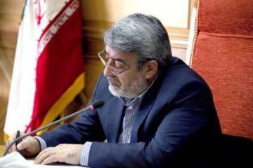 وزیر کشور دستور شروع فرآیند انتخابات میاندوره ای مجلس در حوزه اهر و هریس را صادر کرد