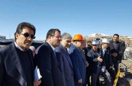 بازدید جمعی از اعضای کمیسیون صنایع و معادن مجلس از معدن مس سونگون