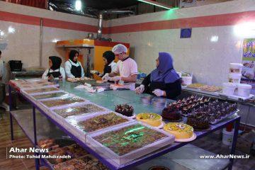 افتتاح کارگاه قنادی و شیرینی پزی در اهر