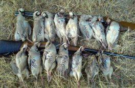 دستگیری شکارچی متخلف در شهرستان هوراند