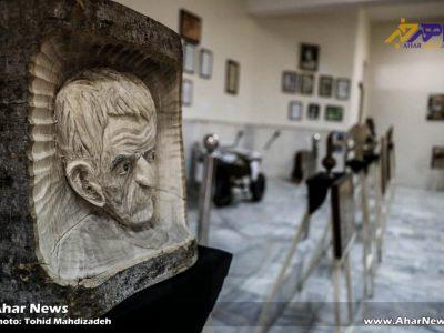 نمایشگاه صنایع دستی استاد قادر خزلی