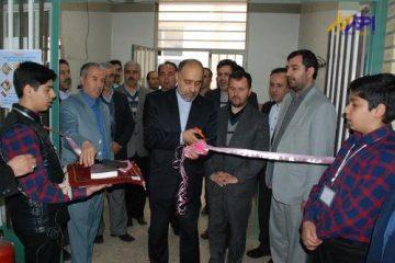 بازارچه مرکزی دانش آموزی در اهر افتتاح شد