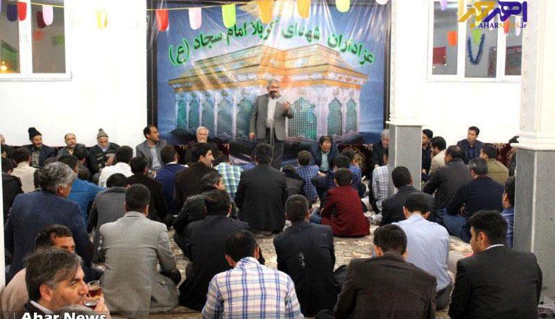 مراسم افتتاح حسینیه هیئت عزاداران امام سجاد (ع) اهر