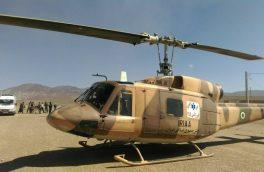 اورژانس هوایی، ناجی بیمار ۷۰ ساله در هریس شد