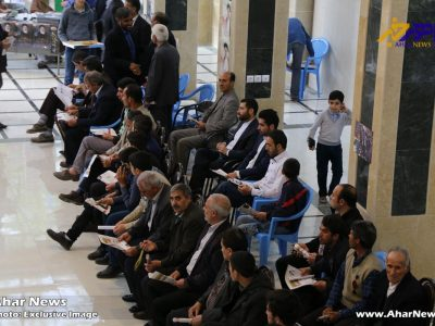 تجمع هواداران حجت الاسلام رئیسی برای تشکر از قالیباف در اهر