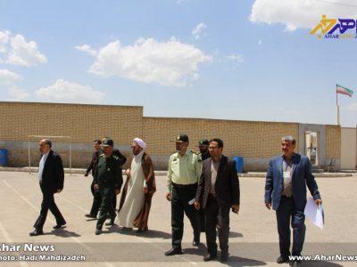 بازدید شورای تامین شهرستان اهر از شعب رأی گیری انتخابات ۱۳۹۶