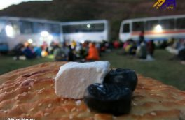 همایش افطاری کوهنوردان اهری در ارتفاعات ییلاقی رشته کوه گویجه بل