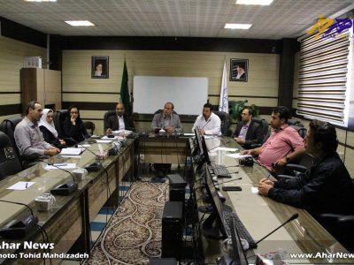 نشست خبری رئیس بیمارستان باقرالعلوم (ع) و رئیس شبکه بهداشت و درمان اهر