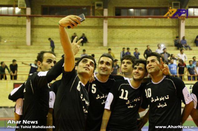 فینال پنجمین دوره مسابقات فوتسال جام رمضان در اهر (۲)