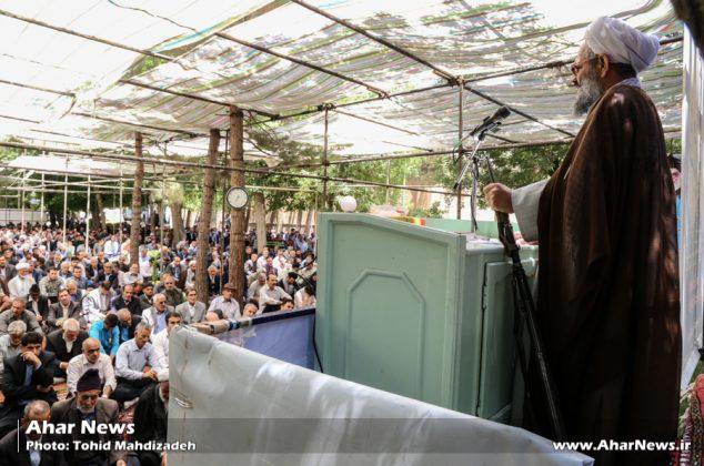 آخرین نماز جمعه ماه مبارک رمضان ۱۴۳۸ در اهر
