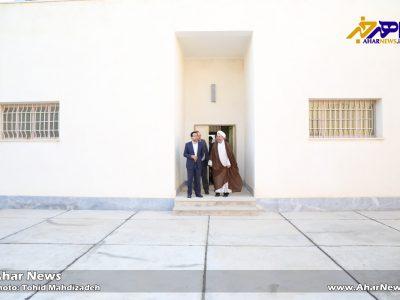 بازدید مسئولان دادگستری اهر از زندان جدید این شهر
