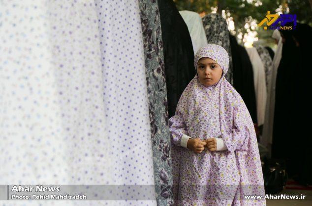 اقامه نماز عید فطر در شهرستان اهر