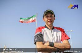 استقبال مردم اهر از حسین رضایی، قهرمان مسابقات جهانی ۲۰۱۷ اسپانیا در رشته بدمینتون