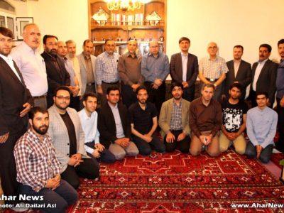 دیدار جمعی از اهالی قلم، رسانه و فرهنگ با استاد حسین دوستی