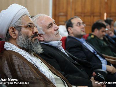شورای اداری شهرستان اهر با حضور نماینده مردم اهر و هریس در مجلس شورای اسلامی