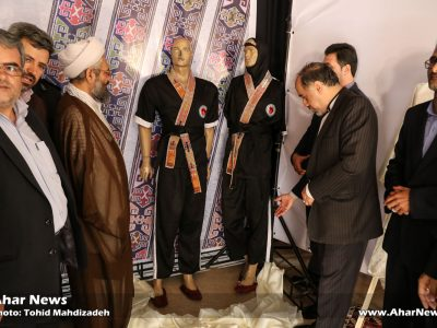 آئین رونمایی از لباس اختصاصی هنر رزمی آذران رزم