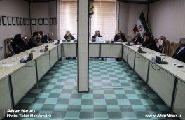 جلسه شورای آموزش و پرورش اهر با محوریت برنامه ریزی برای جشنواره خیرین مدرسه یار