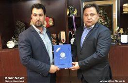 دیدار حسین عزتی، مسئول کمیته آرنیس با رئیس فدراسیون ورزش های رزمی