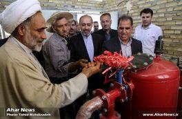 افتتاح پروژه آبیاری تحتفشار روستای نقاره کوب