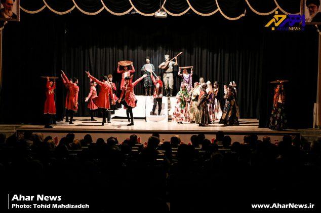 اولین روز یازدهمین دوره جشنواره تئاترهای کوتاه ارسباران (قره داغ)