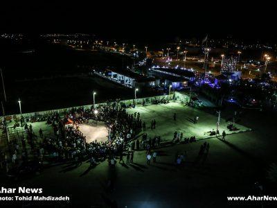مراسم افتتاحیه یازدهمین جشنواره سراسری تئاترهای کوتاه ارسباران