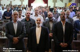 مراسم تحلیف اعضای شوراهای روستایی بخش مرکزی اهر