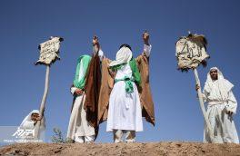 بازسازی واقعه تاریخی غدیر خم در اهر