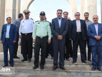 تجدید میثاق زاهد محودی، فرماندار جدید شهرستان اهر با شهداء در اولین روز کاری