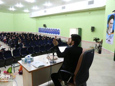 همایش امر به معروف و نهی از منکر با سخنرانى استاد تقوی در اهر