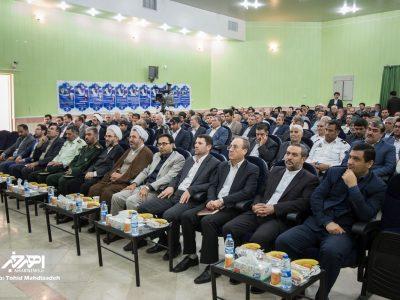 آیین تودیع و معارفه دادستان سابق و جدید شهرستان اهر