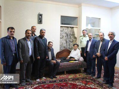 دیدار فرماندار جدید شهرستان اهر با خانواده های شهداء