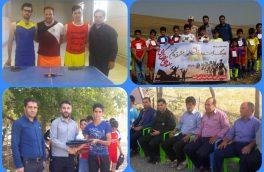 برگزاری مسابقات ورزشی در آبش احمد به مناسبت هفته دفاع مقدس