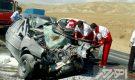 تصادف زنجیره ای ۵ خودرو در جاده اهر – تبریز با ۱ کشته
