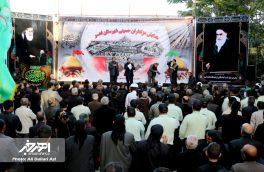 همایش عزاداران حسینی در شهرستان اهر